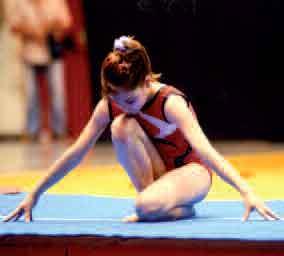 Giulia Bagnasco 2 volte Campionati Nazionali al volteggio e campionessa regionalei al volteggio categoria Juniores Gold